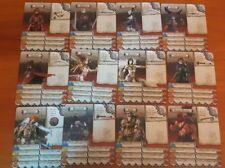 ZOMBICIDE BLACK PLAGUE ID SURVIVOR ENGLISH CARDS