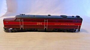 HO Scale Proto PA-1 Diesel Locomotive Gulf Mobile & Ohio GM&O #291 burgundy