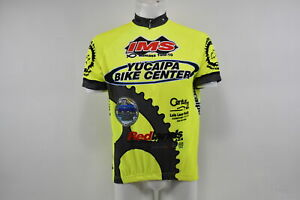 Verge V Gear Yucaipa Bike Men's S/S Cycling Jersey, Neon Yel, 3/4, XS, Brand New