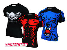 ROUGH RADICAL Funktionsshirt T-Shirt Fitness MMA Sportshirt Kompression CRUEL