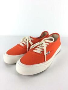 VANS 27cm Orn Og 43 Lx Size 9 Orange Low cut Fashion Sneaker 5422 From Japan
