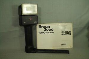 Braun 2000 VarioComputer 380 bvc  Camera Flash
