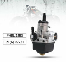 PHBL 25BS R2731 25mm Carburetor Nylon Bottom Dellorto For 2 Stroke ATV Dirt Bike