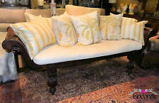 1601-101 REDUCED!! British West Indies Style Caned Loveseat, Settee or Bench