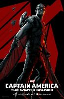 Captain America poster - The Winter Soldier poster - 11 x 17 - Falcon poster