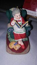 1997 Hallmark Keepsake Ornament Studio Edition Mrs. Claus'S Story Signed