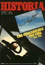 Revue spécial Historia les chasseurs du ciel 1914 - 1981 No 420 bis 1981
