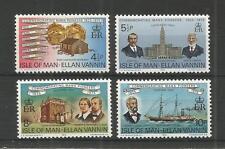 I.O.M 1975 MANX PIONEERS IN CLEVELAND SG,59-62 UM/M N/H LOT R199