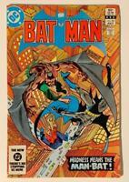 Batman #361.1st Appearance Harvey Bullock. (DC 1983) Bronze Age Issue.