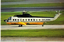Postcard 961 - Aircraft/Aviation Gatwick Heathrow Airlink Sikorsky Helicopter