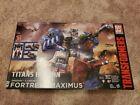 Transformers Titans Return Titan Class Fortress Maximus MISB