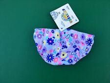 Build a Bear Teddy Bear Clothing - White Pastel Flower Panties Underwear  - NEW