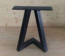 2er Set Bankkufen Stahl Design  B ca 350 x H ca 420 mm
