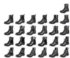 Normale-Weite-(E) Damenstiefel & -Stiefeletten im Boots-Stil mit Schnürsenkel für Freizeit