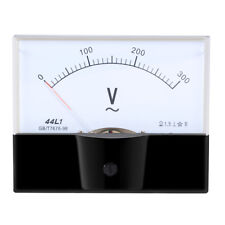 AC 0-300v Analog Panel Voltage Gauge Volt Meter 44l1 1.5 Error Margin