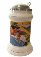 Vintage 1994 Camel Brand Cigarettes Collector's Lidded Stein Limited Edition