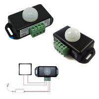 Homematic Dc 12V-24V 8A Infrarot Pir Bewegungsmelder Schalter für Led-Licht neu~