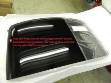C4 Corvette Roof Panel Lens Rebuild Exchange Repair Service Glass Acrylic