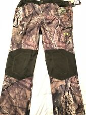 UNDER ARMOUR MOSSY OAK ColdGear Mens Camo Hunting Pants Scent Control NWT Fleece