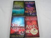 Lara Adrian Paperbacks Great Midnight Breed Series Lot of 4