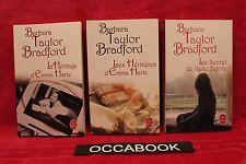 Barbara Taylor Bradford - Lot de 3 - TBE