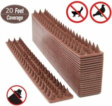 Bird Spikes Defender Repellent Pigeon Cat Scare Spiral Spike Anti-Climbing Fence