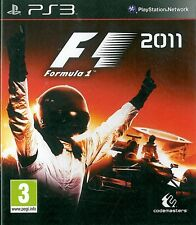 F1 2011 Sony Playstation 3 PS3 3+ Racing Game