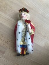 "Gladys Boalt Christmas Ornament ""King of Hearts"" 1985 Alice in Wonderland Series"