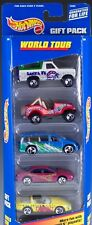 Hot Wheels World Tour 5 Pack Gift Set 2000 NEW In Box #25369