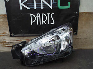 MAZDA 2 2014 2015 2016 HEADLAMP HEADLIGHT LEFT SIDE N/S (701) 100-18369