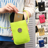 New Faux Leather Mini Cross-body Messenger Bag Shoulder Bag Mobile Phone Bag