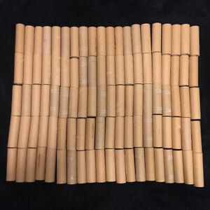 100 CARDBOARD TUBES Label Thick Rolls 4.125 x 1.25 Art Crafts School Project DIY