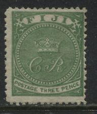 Fiji QV 1871 3d green mint o.g.