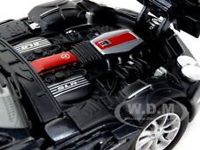 MERCEDES SLR MCLAREN BLACK 1:24 DIECAST MODEL CAR BY MOTORMAX 73306
