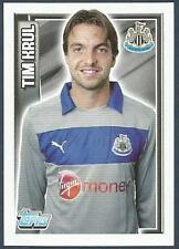 TOPPS 2012/13 PREMIER LEAGUE #132-NEWCASTLE UNITED & HOLLAND-TIM KRUL