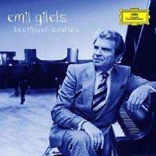 Emil Gilels-BEETHOVEN-SONATE pianoforte 1-29/Eroica-variazioni 9 CD Pianoforte Nuovo