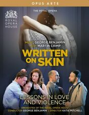 DVD - ROYAL OPERA HOUSE - WRITTEN ON SKIN  LESSONS IN LOVE  (NEW  SEALED )