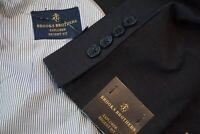 Brooks Brothers Explorer Regent Fit Charcoal Gray Wool Blend Sport Coat 41R NWT
