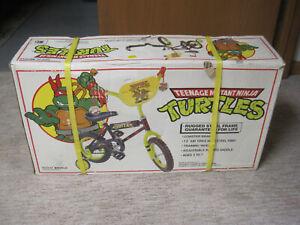 """1990 SURGE Teenage Mutant Ninja Turtles TMNT Bicycle 12"""" Kids Bike - Sealed Box!"""