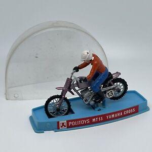 POLITOYS 1/18 MT13 Yamaha Cross moto motorcycle miniature