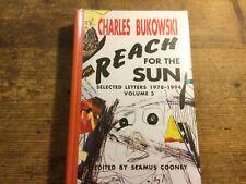 Charles Bukowski  REACH FOR THE SUN Book Limited Edition! HC Book