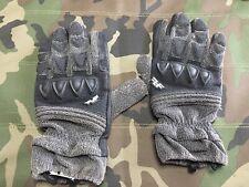 Line of Fire Striker Black/Grey Gloves Large (used)