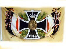Fahne Flagge XXL Militaria Eisernes Kreuz 1914 Deutschland  2,5m x 1,5m #337 Neu