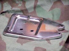 Knucklehead, Panhead, B.T. Flathead Chrome Battery Support Plate. 36 - 64.