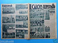 1948 il calcio illustrato n. 39 torino milan inter modena napoli lazio juventus