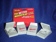 The Better Mouse Trap Intruder 4 Mice Mousetrap Lot Traps Pests Garage Free Ship