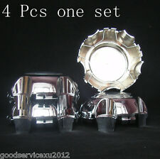 4 Pcs Chrome-Plated Car Wheel Hub Center Caps Cap Covers For 05-07 SUZUKI VITARA