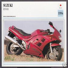 1994 Suzuki RF900R 900cc R (937cc) Japan Bike Motorcycle Photo Spec Info Card