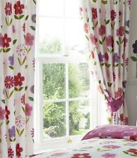 Unbranded Floral Ready Made Curtains & Pelmets