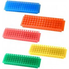 Tube Rack Holder Box Test Vial, Small Bottles Container Holder, Assorted colors